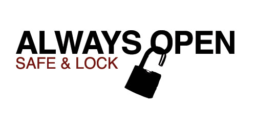 Final Always Open Safe and Lock