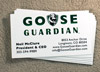 Goose Guardian Business Cards