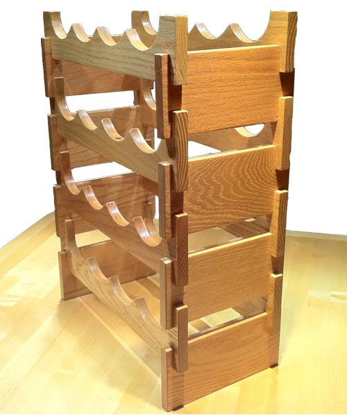 Woodwork woodworking wine rack design pdf plans