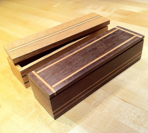 Wooden Inlayed Jewelary Boxes